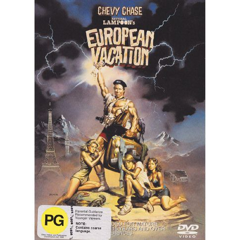 National Lampoons European Vaction DVD 1Disc
