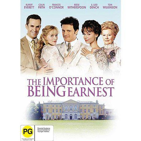 The Importance Of Being Earnest DVD 1Disc
