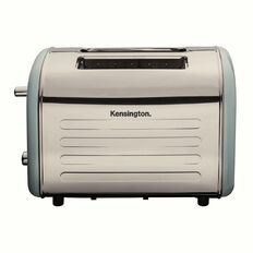 Kensington Retro Toaster 2 Slice Blue