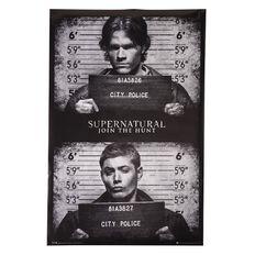 Supernatural Mug Shots Poster