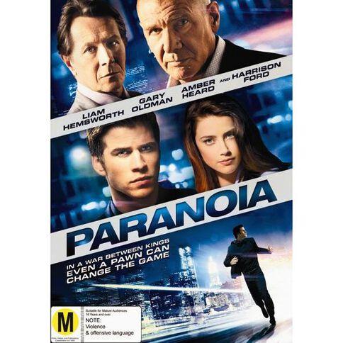 Paranoia DVD 1Disc