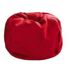 Living & Co Bean Bag Cover Red 200L