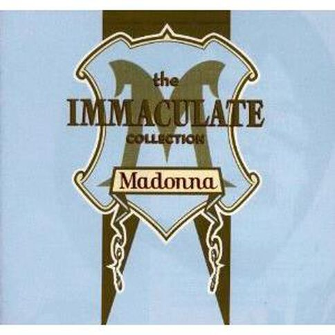 The Immaculate Collection CD by Madonna 1Disc