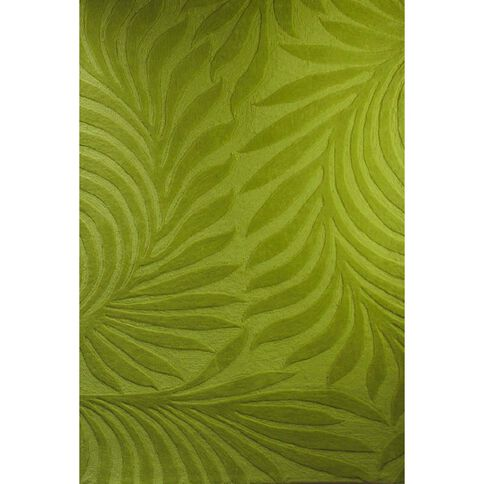 Rug Pinacle Uni Lime 150cm x 220cm