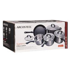 Arcosteel Supremo Cookware Set 5 Piece
