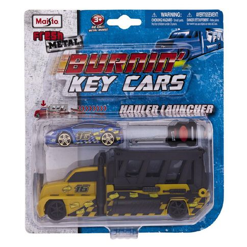 Maisto Fresh Metal Burning Key Car Launcher Assorted