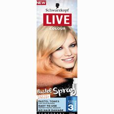 Schwarzkopf LIVE Colour Pastels Spray Apricot 125ml
