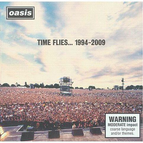 Time Flies 1994-2009 CD by Oasis 2Disc