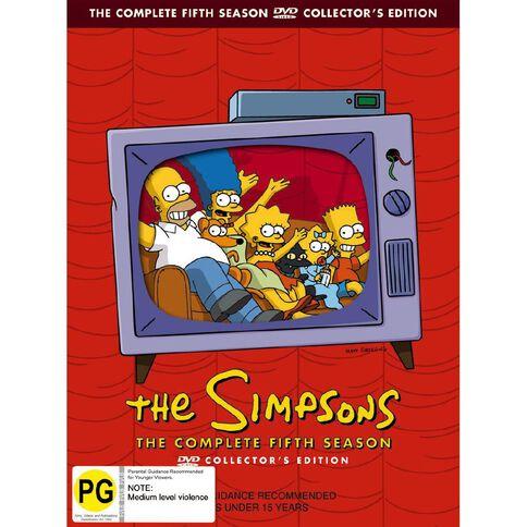 The Simpsons Season 5 DVD 4Disc