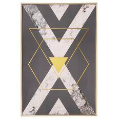 Living & Co Framed Wall Art Dusky Marble Arrow 40cm x 60cm
