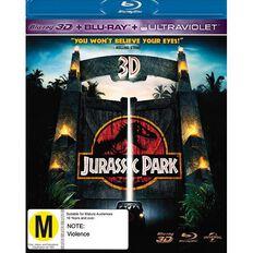 Jurassic Park Blu-ray + 3D Blu-ray 2Disc