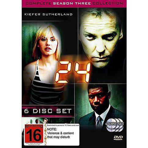 24 Season 3 DVD 6Disc