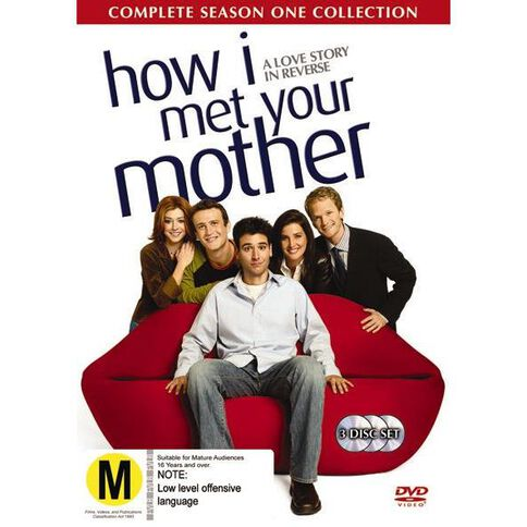How I Met Your Mother Season 1 DVD 3Disc