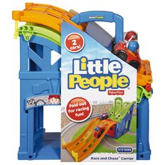 Fisher-Price Little People Fold Race & Chase Carrier