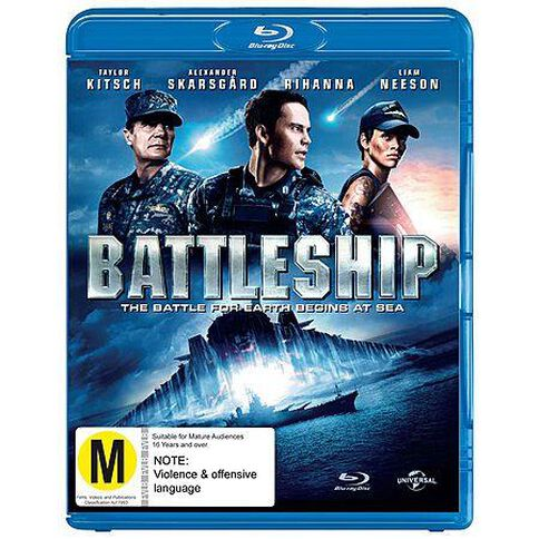 Battleship Blu-ray 1Disc