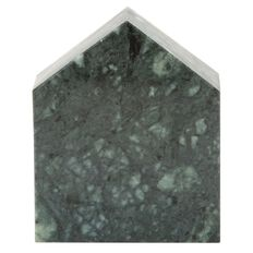 Living & Co Emerald City Green Marble house 7.5cm x 3cm x 9.3cm