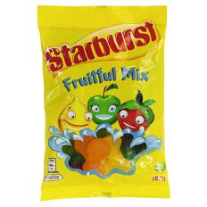 Starburst Fruitfuls 180g