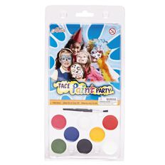 Facepaint with Brush 7 Colours