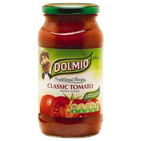 Dolmio Traditional Recipe Classic Tomato Pasta Sauce 500g