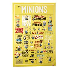 Minions Infographic Poster