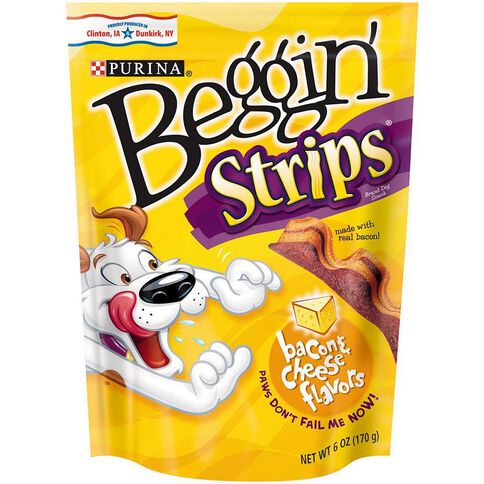 Purina Beggin' Strips Bacon and Cheese 170g