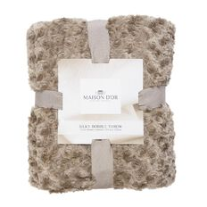 Maison d'Or Throw Silky Bobble