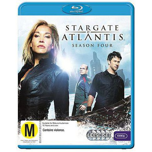 Stargate Atlantis S4 Blu-ray 4Disc