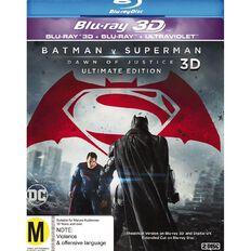 Batman v Superman Dawn of Justice 3D Blu-ray 1Disc
