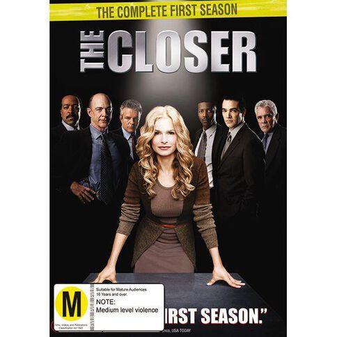 The Closer Season 1 DVD 4Disc