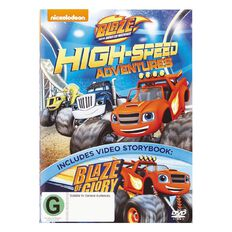 Blaze & The Monster Machines High Speed Adventures DVD 1Disc