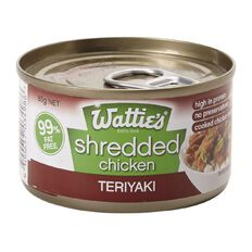 Wattie's Shredded Chicken Teriyaki 85g