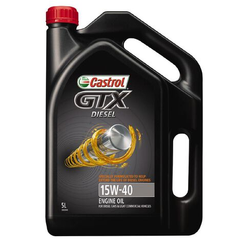 Castrol GTX Diesel Oil 15W-40 5L