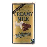 Whittaker's Creamy Milk Block 250g