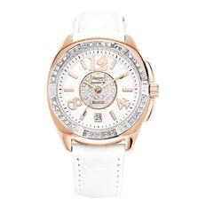 Destiny Ladies' Gold and White Watch