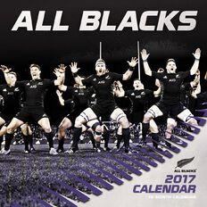 All Blacks Calendar 2017 Mini Wall