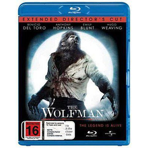 The Wolfman Blu-ray 1Disc