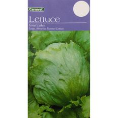 Carnival Seeds Great Lake Lettuce Vegetable