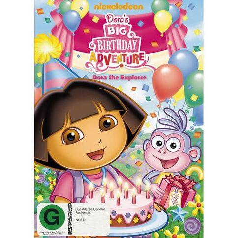 DVD Dora The Explorer Dora's Big Birthday Adv Aka Journey Home DVD 1Disc