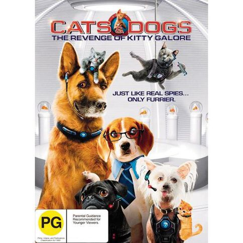 Cats & Dogs 2 DVD 1Disc