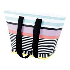 Living & Co Beach Tote Cooler Bag Pastel