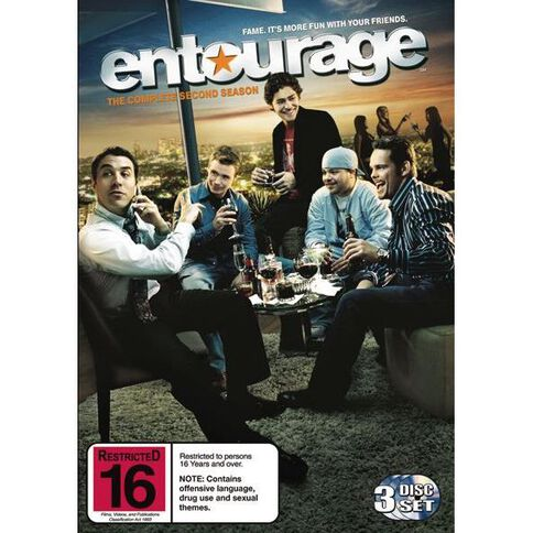 Entourage Series 2 DVD 3Disc
