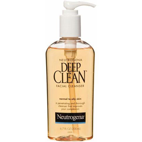Neutrogena Deep Clean Cleanser 200ml