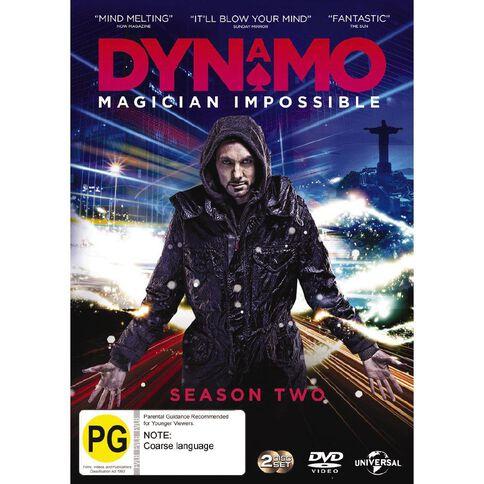 Dynamo Magician Impossible Season 2 DVD 2Discs