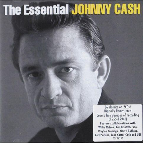 The Essential CD by Johnny Cash 2Disc