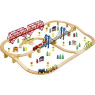 First Learning Super Wooden Train Set 100 Piece