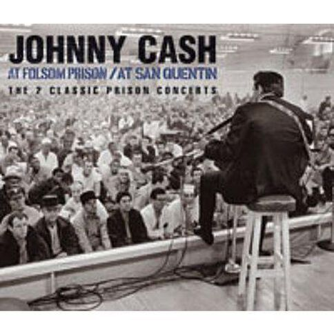 At San Quentin & at Folsom Prision CD by Johnny Cash 2Disc