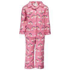 Basics Brand Infant Girls' Packaged Flannelette Pyjamas
