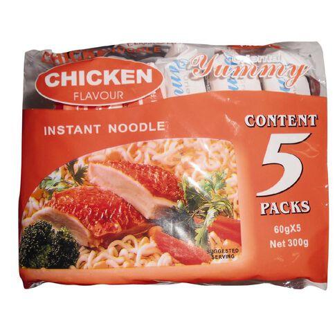 Yummy Noodles Chicken 5x60g