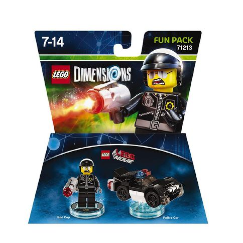 LEGO Dimensions Fun Pack LEGO Movie Video Game Bad Cop