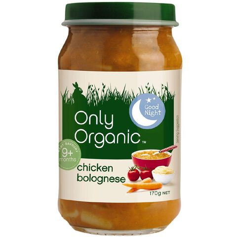 Only Organic Chicken Bolognese 170g